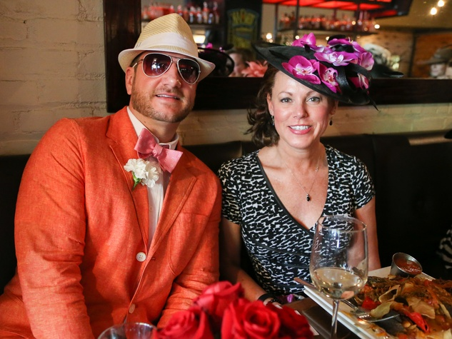 Austin Influential Group Derby Day at Ten Oak Tom Stanek Jennifer Stanek