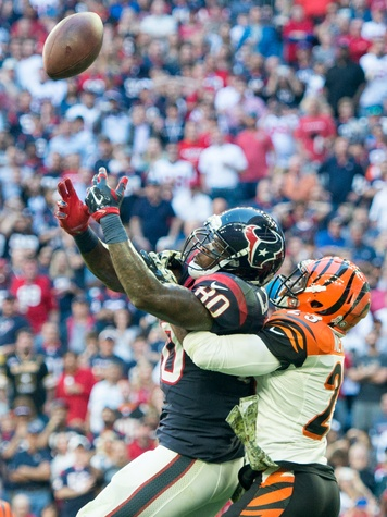 Texans Bengals Andre Johnson high ball