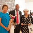 255 Drucie Chase, from left, Peter Thornton, Hazel Biggers and Cheryl Elliott Thornton at For the Sake of Art June 2014