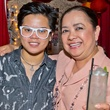 41 Maria Canlas, left, and Tess Tuazon, Regional Chair for Philippine-American Chamber of Commerce (PACC) at the Young Professionals Grand Prix kick-off party June 2014
