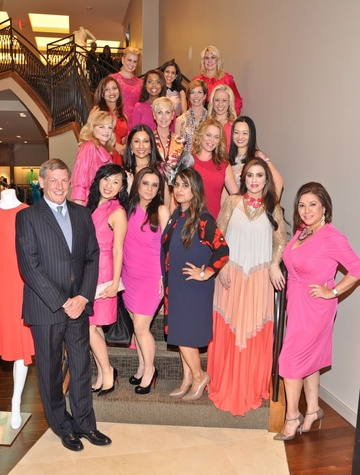196 Group shot at the Third International Mothers Day Soiree Kick-off March 2015