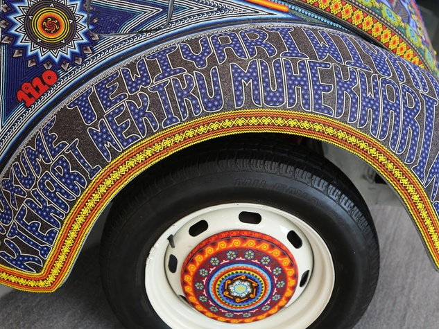 BBVA art car July 2013