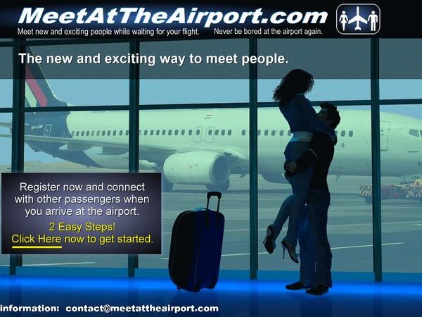 Airport dating website