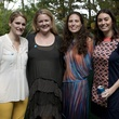 Elizabeth Tyson, from left, Elisa Bates, Amie Geary and Megan Kaldis at Bayou Bend's Bubbly on the Bend April 2014
