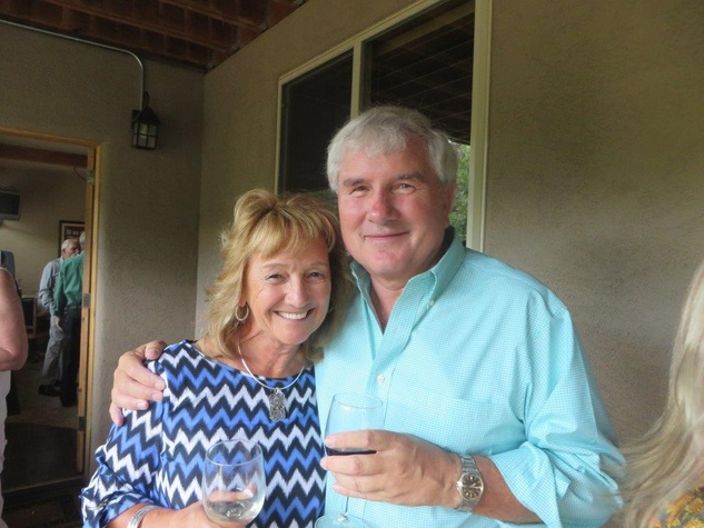 Janet and Graham Backer Houstonians in Park City Utah August 2014