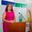 Cynthia Cisneros at the Aga Khan Foundation Emmisary awards reception September 2014