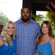 8 Jayme Lamm, from left, Duane Brown, Kristen Martinson and Chris Myers at the Blue Cure Foundation benefit party at Hotel ZaZa June 2014