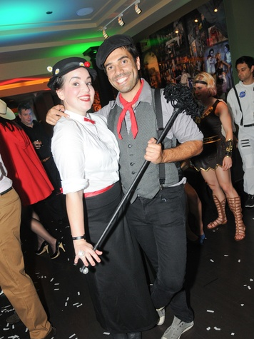 9 Natalie and Vincent Jayawardene at Hotel ZaZa's Halloween party October 2013