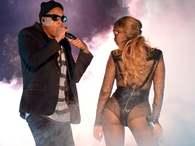 Jay-Z and Beyonce in Miami On the Run tour June 2014