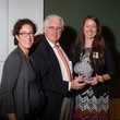 6 Laura Spanjian, from left, David Crossley and Carra Moroni at the Houston Tomorrow Awards October 2014