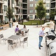 Residents grilling at ilume Park