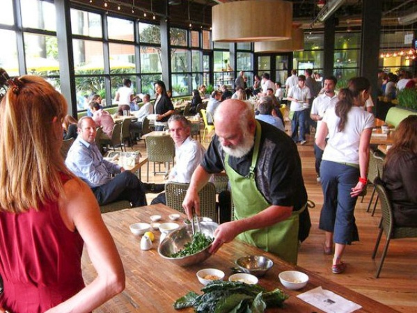 Are you ready for kale aid new restaurant features health for Food bar santa monica