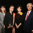 Holocaust Museum Courage Award Dinner, May 2015, Nozomu Takaoka, Madoka Sugihara, Michi Sugihara, Oriha Sugihara