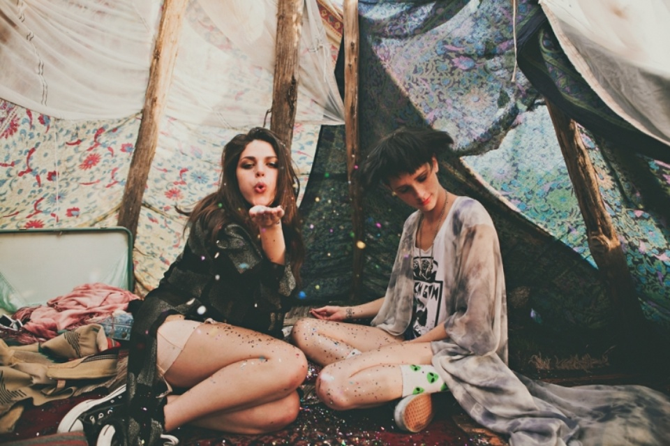 Two friends hit the road in pursuit of Psych Fest in this photo spread