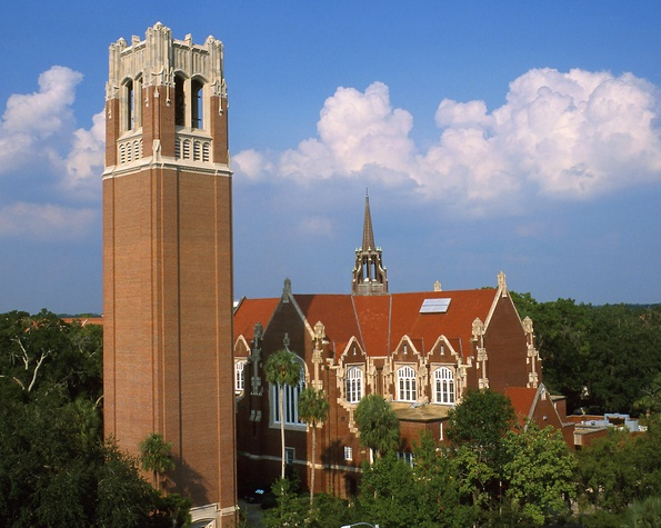 Century Tower on the University of Florida Gainesville campus