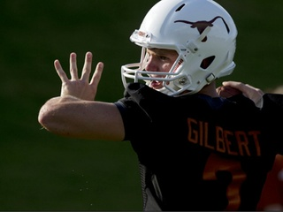 Quarterback Garrett Gilbert Leaves Texas May Be Headed To Smu Culturemap Houston