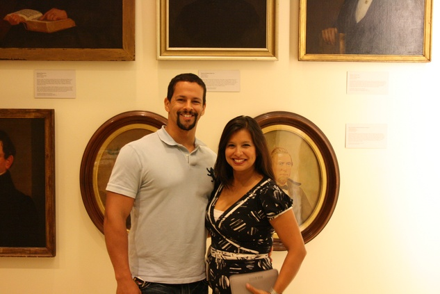 News, Shelby, The Heritage Society Young Houstonians, August 2014, Aaron and Monica Ross