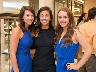 Whitney Wolff, Elizabeth Shafer, Ashley Trauer at CultureMap Houston Social Top Texans Under 30