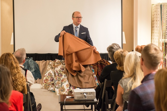 Gary Searle at the Decorative Center Houston Fall Market October 2014