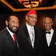 Ensemble Theatre gala, August 2012, Congressman Al Green, Diem Jones, the Rev. Bill Lawson