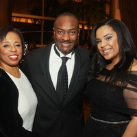 85 Phyllis Williams, from left, Reginald Van Lee and Lauren Randle at the UNCF Gala November 2013