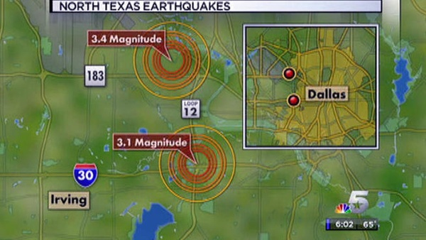 Dallas earthquake