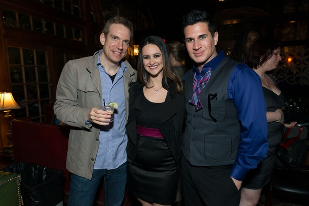 Houston Symphony YP party, Johannes Moser, Lauren Finkelstein, Chad Pitt