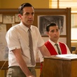 B.J. Novak and Jason Schwartzman in Saving Mr. Banks
