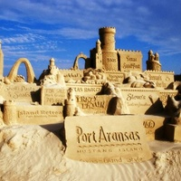 Austin Photo Set: News_Peter Lewis_Port Aransas_September 2011_sand