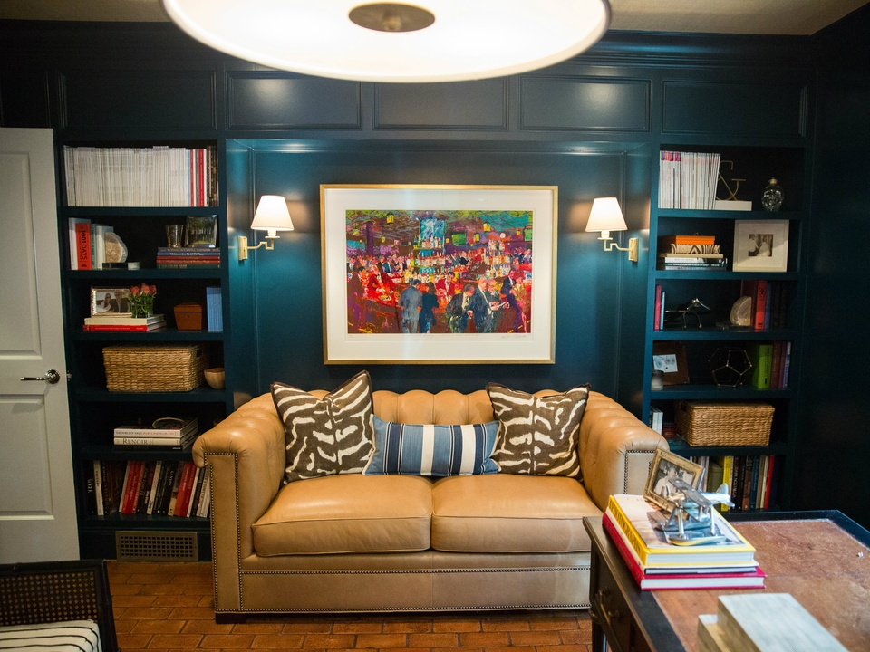 Library Styled By Dallas Interior Designer Amy Berry