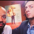 Donald Faison and Zach Braff in Austin for Wish I Was Here