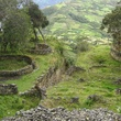 Stephan Lorenz Travels in Peru October 2013 Terraced fields beyond Kuelap's ruins