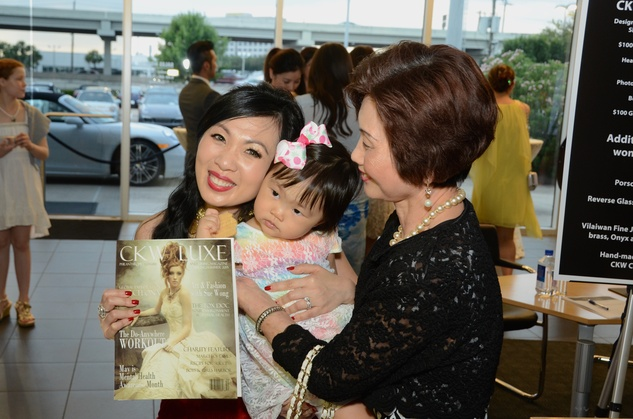 Houston, CKW Luxe Magazine Launch, May 2015, Connie Kwan-Wong, Zoe, Judy Yan