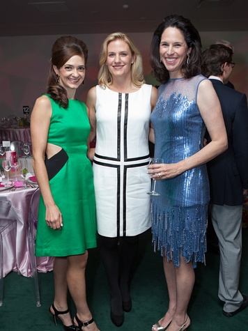89 Kate Bialas, from left, Christie McCartney and Kim Lucas at the Blaffer Gala May 2014