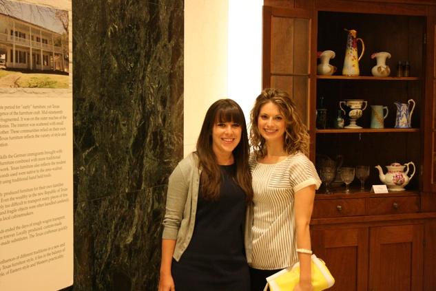 News, Shelby, The Heritage Society Young Houstonians, August 2014, Laura Gant, Claire Petree
