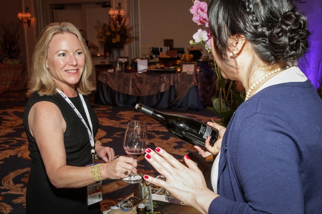 Houston, Periwinkle Foundation Sommelier Competition, September 2015, Anne Clutterbuck, Angie Chang