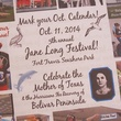 1 Katie Oxford Fifth Annual Jane Long Festival and Lecture Series September 2014