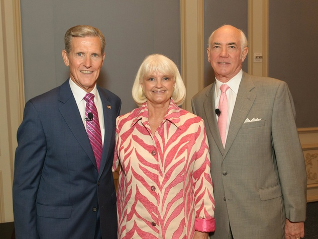 Joel T. Allison, Connie Yates and Rowland K. Robinson, Celebrating Women