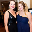 Christie Miller, left, and Allison Sabans at the Friends for Life Gala October 2013