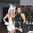 Tracie Prall, left, and Brenda Gonzalez at the Brasserie 19 Halloween party October 2014