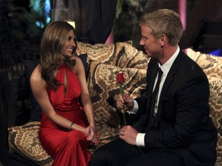 AshLee and Sean Lowe in The Bachelor