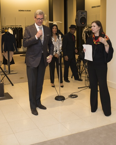 58 Bobby Dees and Sylvia Forsyth at Houston Sweethearts at Saks February 2015