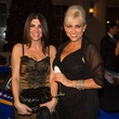 3 Maisa Khalaf, left, and Leesa Foster at the Lamborghini party September 2014