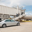 United's Mercedes Tarmac Transporation Service at IAH