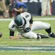 Texans vs. Eagles Eagles quarterback injury with replacement November 2014 Nick Foles down