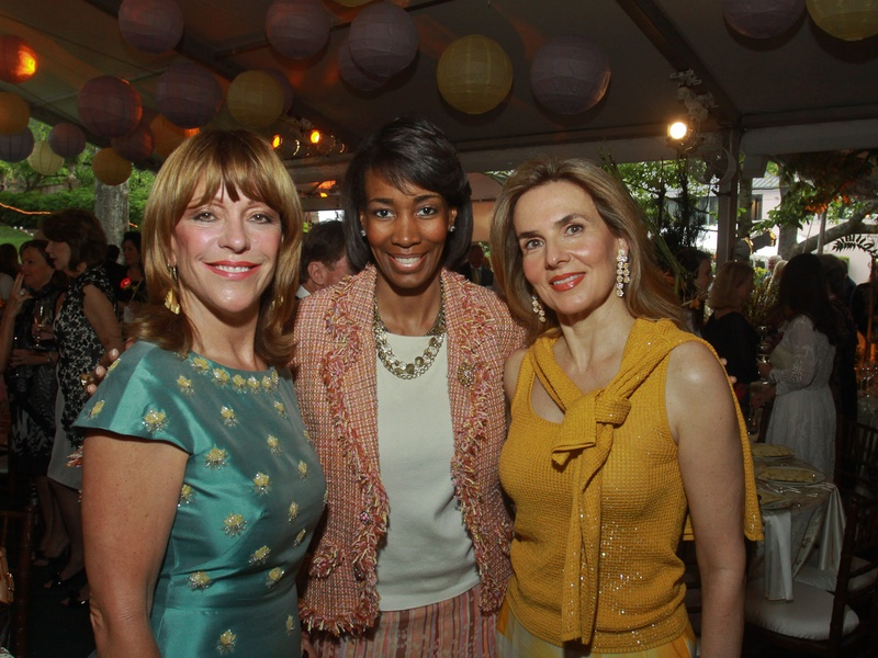 Bayou Bend Garden Party, April 2013, Franci Crane, from left, Stacey