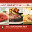 Go Texan, Go Texan Week, logo, poster