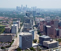 Texas Medical Center, downtown, Houston, skyline