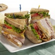 Club sandwich at McAlister's Deli in Dallas