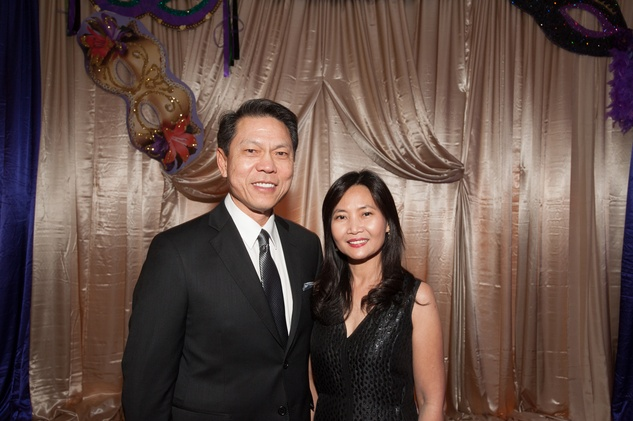 32 Drs. Lim and Mia Hung at the Eye Ball February 2015